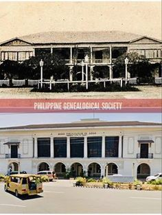 Dito, Noon: Iloilo Provincial Capitol, Iloilo, 1900s x 2019 #kasaysayan -- Built in 1840, it was originally made of wood and stones. It officially became the capitol when the civil government of the province of Iloilo was established in April 11, 1901 with Martin T. Delgado as the first governor. April 11, The Province, Made Of Wood, Present Day, Philippines, Cities, Stones, Mansions, House Styles