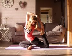 #yoga at home find o