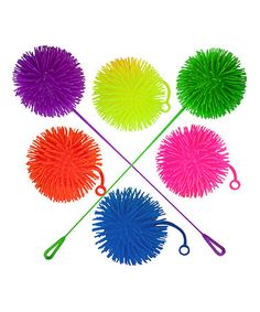 Jumbo Light-Up Puffer Ball Yo-Yo - Set of Six #zulily #zulilyfinds ... Great For the 4th of July!!