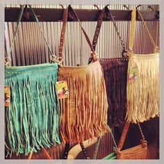 Rollin' J Boutique: fringe bags