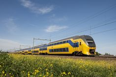 Ik vind het leuk om met de trein te reizen.