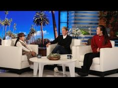 """Eight-year-old presidential expert Macey Hensley celebrated Presidents' Day by telling Ellen a few jokes, and also got a special surprise from the star of her favorite TV show, """"This Is Us. Amazing Magic Tricks, The Ellen Show, Dance Routines, Famous Movies, Darren Criss, Second World, Nicole Kidman, Motown, Joanna Gaines"""