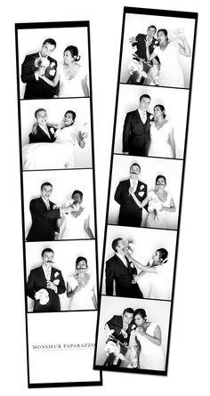 Trendy Wedding, blog idées et inspirations mariage ♥ French Wedding Blog: {Séance couple} Shooting façon Photomaton