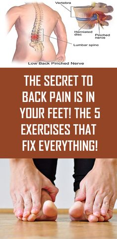 The Secret to Back Pain is in Your Feet! The 5 Exercises that Fix Everything! The Secret to Back Pain is in Your Feet! The 5 Exercises that Fix Everything! The Secret to Back Pain is in Your Feet! The 5 Exercises that Fix Everything! Health And Beauty, Health And Wellness, Health Tips, Health Fitness, Healthy Beauty, Health Diary, Women's Health, Health Unit, Healthy Man