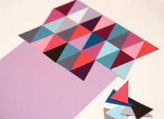 DIY Simple And Stylish Wall Art Of Paint Chips   Shelterness