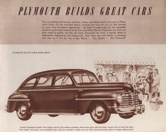 1948 Plymouth Special Deluxe 4 Door Cars Pinterest