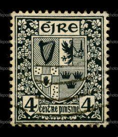 Irish postage stamp