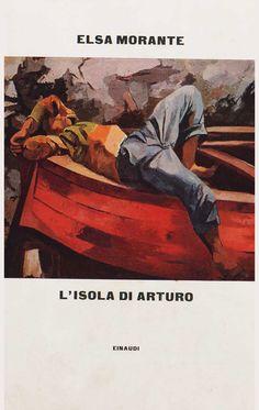 """L'isola di Arturo_Elsa Morante_1957. Ritratto: """"Ragazzo addormentato sulla barca""""_Gattuso"""