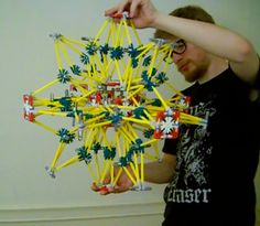 This instructable shows how to make an expanding and contracting sphere out of K'nex construction toys.  The design is similar to that of the toy sold as the...