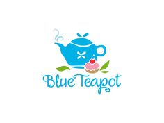 """Create the best logo for the """"Blue Teapot"""" tearoom in France by trumpdesign"""