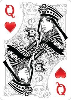 queen of hearts card - Google Search