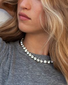 Rodarte for The Zoe Report Swarovski Crystal Butterfly Necklace