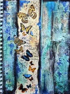 Art Journal Page *Flying Unicorn* - Scrapbook.com