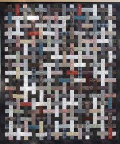 One World Fabrics: Shop | Category: Patterns | Product: Basket Lattice