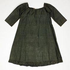 Object Name  Dress  Date  ca. 1799