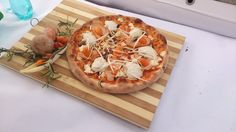 This is the pizza that won the first prize in the creative section of the Romanian National Pizza Championship Cluj 2014.