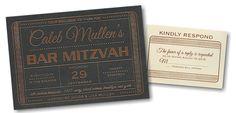 Exclusive VIP Pass #Bar #Mitzvah #Invitation