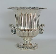 English Silverplate Wine Cooler, William Hutton & Sons : Lot 566