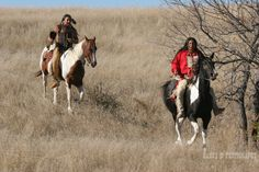 South Dakota Native American Artists | Native American Indian man riding horseback looking for ememies ...