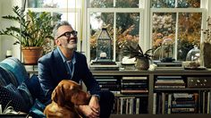 At Home With J.Crew's Menswear Director: Frank Muytjens gives a tour of his charming cottage in upstate New York and some invaluable decorating advice. Cute Dorm Rooms, Cool Rooms, Ship Lap Walls, Elegant Homes, Living Room Designs, Living Spaces, Living Rooms, J Crew, Menswear