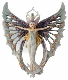 Butterfly Lady - Ok.  This may have to be my next Halloween costume.  :)