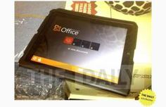 Microsoft Office On An iPad - leaked. Microsoft are further combining with Apple, as this leaked photographs shows an app in process for the new iPad. Loosing its traditional PC background it seems Apple could be calling all brands, becoming the future. Is it too early to say goodbye to PC's?