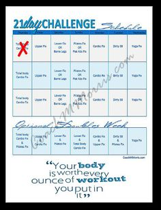 21 Day FIX complete Planner by ToInsanityAndBack on Etsy