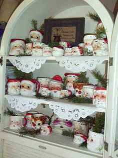 The Old Parsonage: Old Fashioned Christmas Mug Collection