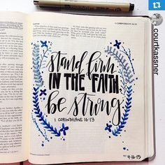 I love how choosing two contrasting fonts can make something so beautiful! Do you have favorite fonts you copy when Bible journaling?