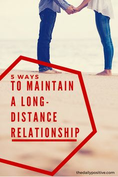 You have found the one you want to be with, and the only thing keeping you apart is distance. What do you do? For some, the need for physical presence is strong, so a long-distance relationship may not be your thing. But for others, you want to make it work!