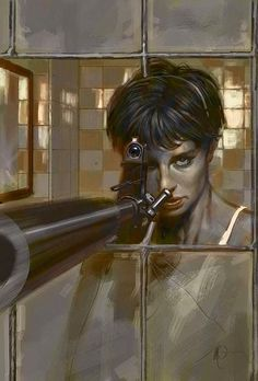 Nikita by Massimo Carnevale | Swords and Bullets | Pinterest