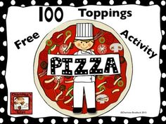 Classroom Freebies Too: 100 Days of School Pizza Activity