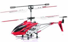 Syma Channel RC Helicopter with Gyro for Kids Toys Gift (RED) - Johns Books and Hobbies Heng Long, Red Color Schemes, Rc Drone, Drones, Rc Helicopter, Radio Control, White Elephant Gifts, Gifts For Kids, Remote