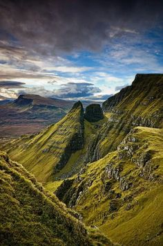 Trotternish Ridge, Culnacnoc, Isle of Skye, Hebrides.