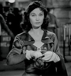 """normajeaned: """" """" Vivien Leigh in Waterloo Bridge (1940)."""