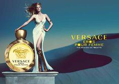 """""""Eros Pour Femme é o expoente máximo em poder e sedução de Versace, desde a cativante fragrância à extrema elegância do frasco e à impressionante campanha de Mert Alas e Marcus Piggott, protagoniza…"""