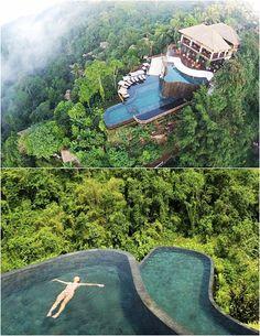 Hotel Ubud Hanging Gardens, em Bali, na Indonésia
