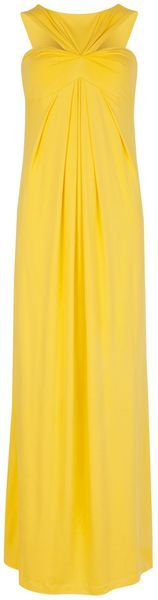 TED BAKER ENGLAND Oro Pleated Maxi