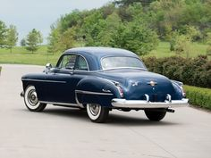 1950 Oldsmobile Futuramic 88 Club Coupe