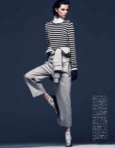 Vogue Japan, December 2012.  Shot by Steven Pan and styled by Vanessa Traina.