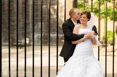Downtown Pittsburgh wedding photo