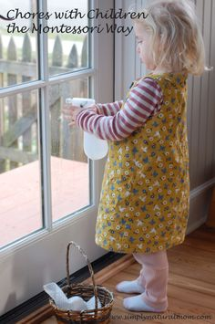 Tips for getting children to take ownership over household chores - from Simply Natural Mom.
