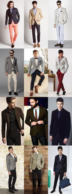 Men's Uniform LookbookWith a few simple tweaks to fabrics and colours, the basic shirt/trousers/blazer combination can be adapted to the cur...