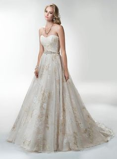 Maggie Bridal by Maggie Sottero Maggie Sottero Haute Couture Amanda-Lina's Sposa Boutique - Wedding Gowns, Prom, Bridesmaid and Evening Dresses Maggie Sottero, Wedding Attire, Wedding Gowns, Pretty Dresses, Beautiful Dresses, Gorgeous Dress, Bridal Dresses, Girls Dresses, Bridesmaid Dresses