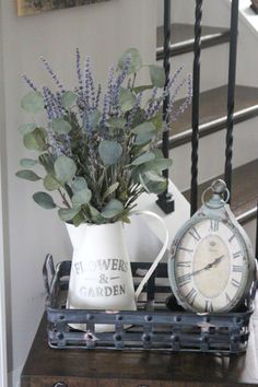 Farmhouse Rustic Arrangement: Silk Floral by SimplyStems on Etsy