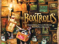 The Boxtroll CD & Book Giveaway