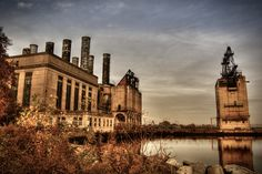 Abandoned power station - Philadelphia