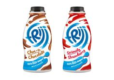 Frijj Less Sugar on Packaging of the World - Creative Package Design Gallery