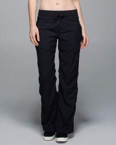 3a51b779c1 dance studio pant//unlined//black Lululemon Athletica, Lululemon Pants,  Athletic