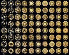 Cymatics. Sound is both a wave and a geometric pattern at the same time.
